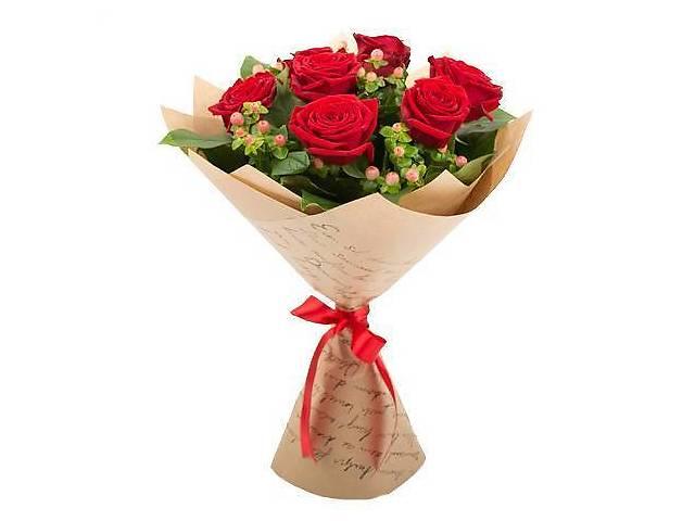 купить бу Троянди оптом і в роздріб. Букети з троянд та інших свіжих квітів в Одесі