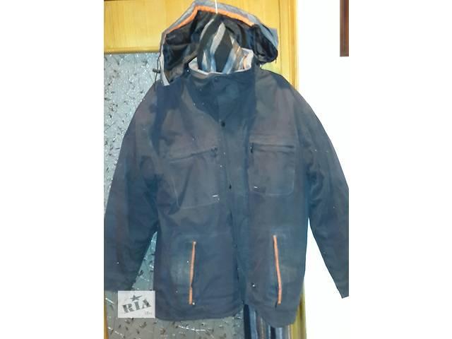продам Продается  зимняя теплая мужская куртка  бу в Киеве