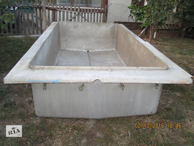 Продам алюминиевую ванну- объявление о продаже  в Ярмолинцах (Хмельницкой обл.)