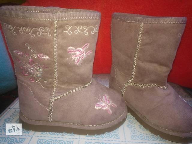 продам Продам детские демисезонные ботиночки для девочки бу в Киеве
