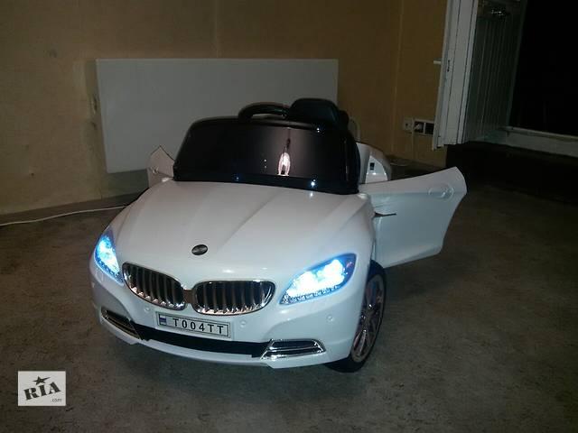 продам Продам Детский электромобиль BMW T004TT с дистанционным управлением бу в Донецке