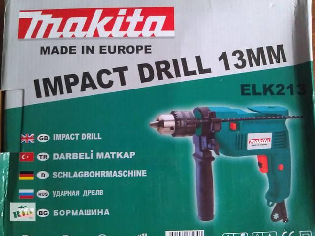 продам Продам дрель Makita ELX 213 бу в Днепре (Днепропетровск)