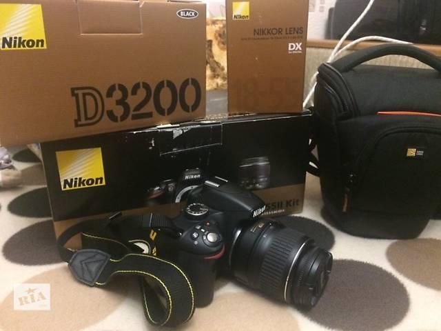 продам Продам фотоаппарат Nikon D3200 18-55 VR Kit (флешка, сумка, ) бу в Благовещенском (Кировоградской обл.) (Ульяновка)