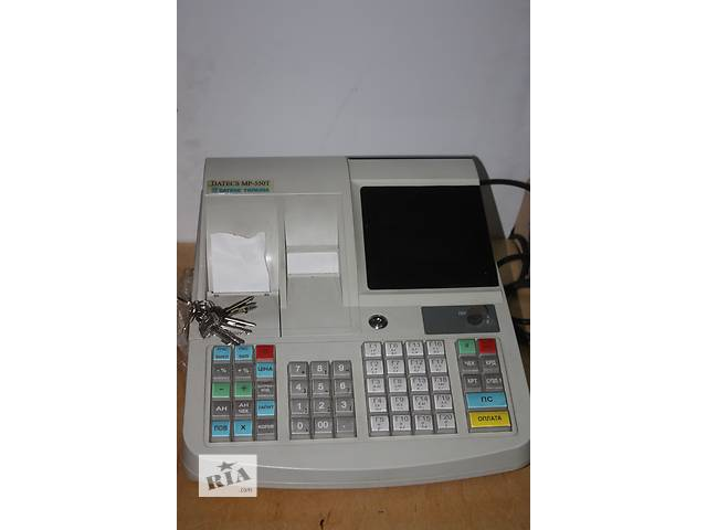 бу Продам кассовые аппараты Datecs MP 550T, 500 б/у 2012 г. в. в рабочем состоянии  в Украине