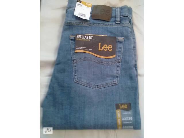 купить бу Продам фирменые джинсы LEE Men's Regular Fit Straight Leg Jean. в Виннице