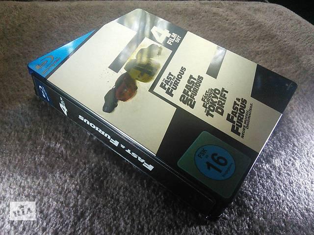 """продам Продам комплект дисків Blu-ray Steelbook """"Форсаж 1-4""""(4BD) (2001-2009) бу в Одесі"""