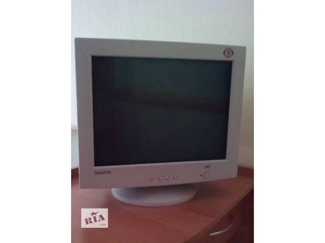 """купить бу Продам монитор """"Самтрон"""" 17-дюймовый полноцветный экран в Запорожье"""