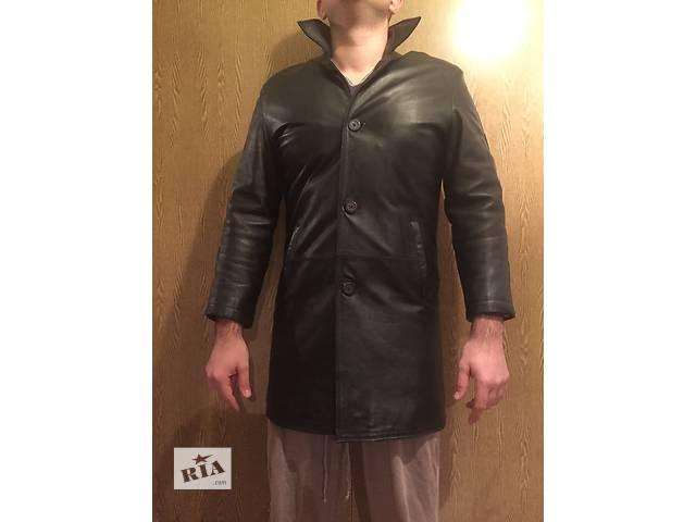 Продам мужской кожаный плащ- объявление о продаже  в Виннице