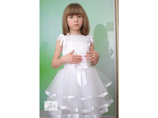 Продам нарядне біле пишне плаття на дівчинку 3-5 років. - объявление о  продаже 8aa9426760d3e