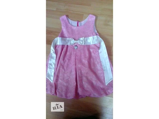 продам платье на девочку 4-6 лет рост 104-110. в хорошем состоянии.- объявление о продаже  в Лисичанске