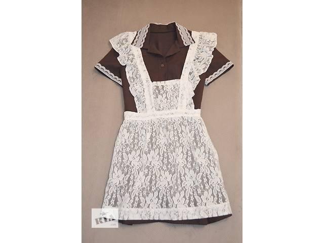 бу Продам школьное платье с фартуком  в Харькове