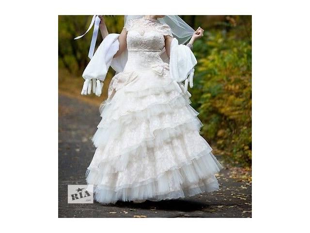 продам продам свадебное платье бу в Мариуполе (Донецкой обл.)