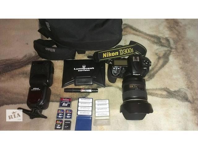 купить бу Nikon D300s. Продам комплект профессионального фотооборудования в Львове