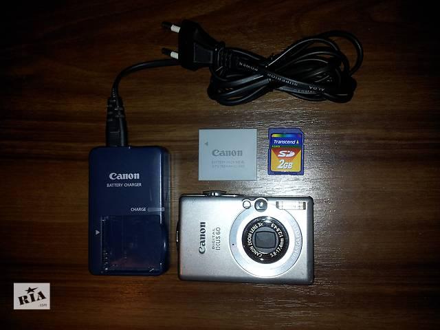 купить бу Продам цифровой Фотоаппарат Canon DIGITAL IXUS 60 в Одессе