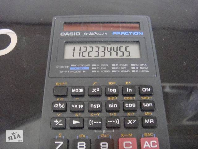продам Продам инженерный калькулятор СASIO-fx60solar бу в Ирпене