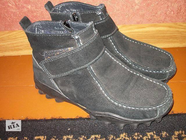 купить бу продам женские замшевые ботинки на овчине в Хмельницком
