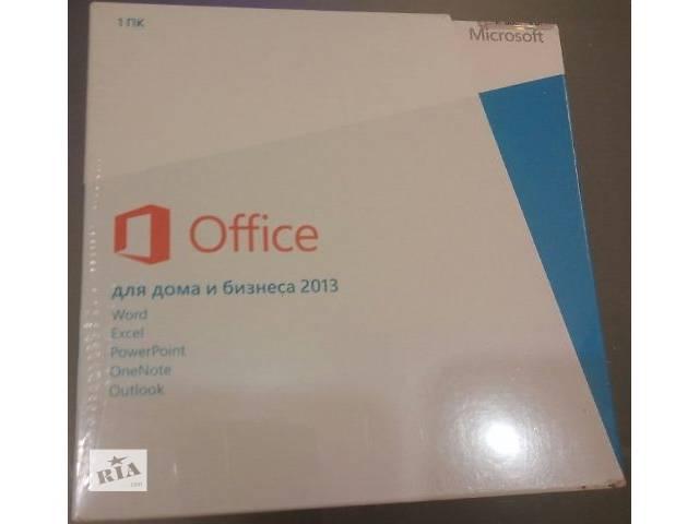 продам Продам лицензионный Windows 8.1, 8, 7 (box, OEM), Office и т.д. бу в Запорожье
