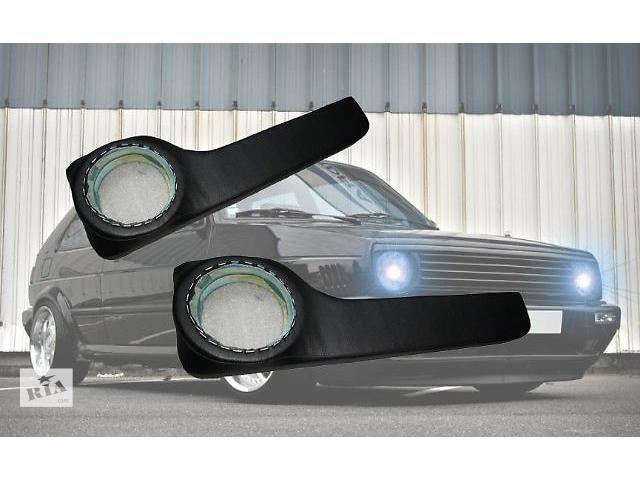 продам Продаю на Volkswagen Golf II акустические подиумы с карманами под динамики,изготовлены с фанеры, прочно обтянуты кожзамо бу в Сумах