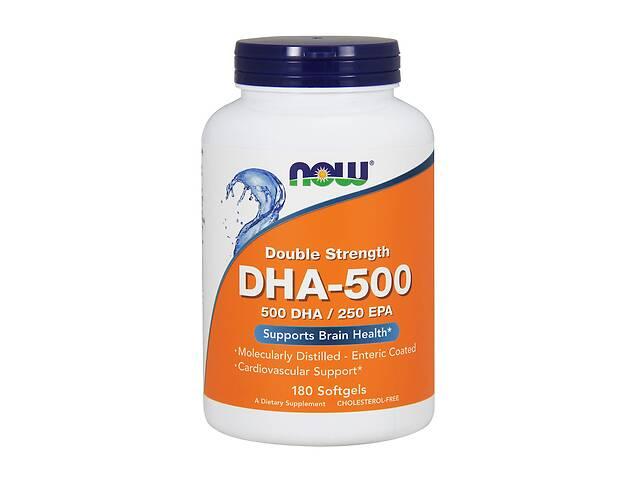DHA-500 / докозагексаеновая кислота Now Foods 180 желатиновых капсул (NF1613)- объявление о продаже  в Киеве