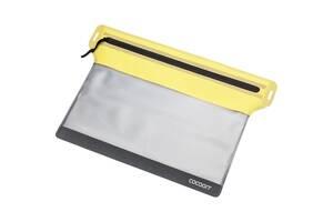 Гермопакет Cocoon Zippered Flat Document Bag L  Жовтий (1051-YDB-2-L)
