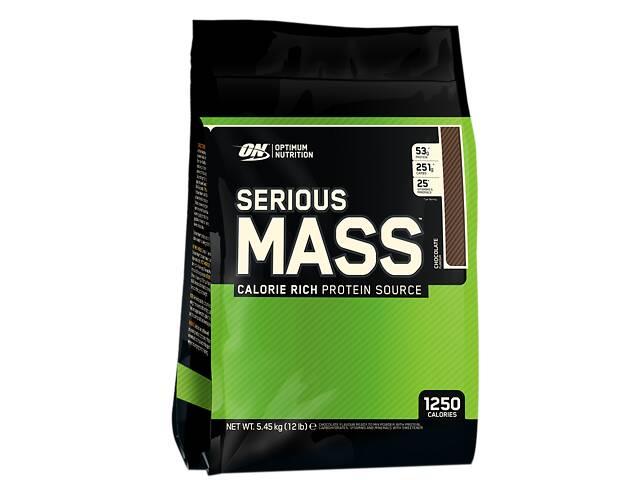 бу Гейнер Optimum Nutrition Serious Mass, 5,44 кг шоколад в Полтаве