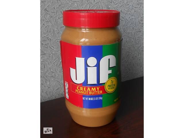 продам Jif 1.36кг Made in USA! Кремовая арахисовая паста! Масло из США! бу в Киеве