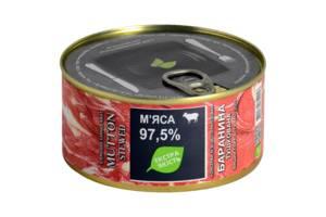 Консервы экзотическое мясо ЕО ж/б - 0,325кг