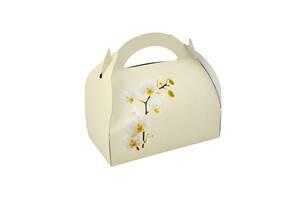 Коробочка с орхидеей  для гостей.