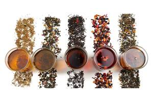 Листовой чай с Китая, Индии, Шри-Ланки