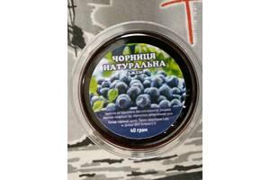 Натуральная черника джем без консервантов и термоабработки.