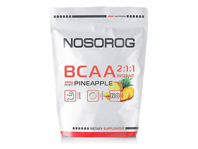 продам Nosorog BCAA 2:1:1 ананас, 200 гр бу в Мариуполе