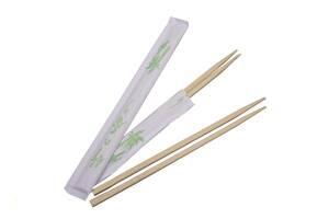 Палочки для суши бамбуковые Promaster в индивидуальной упаковке 21 см 100 шт/уп (21055)