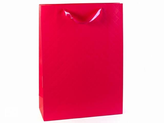 бу Подарочный пакет Малина 43 см  в Украине