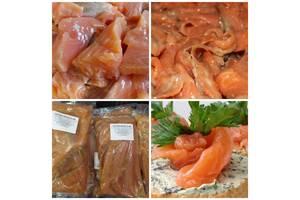 Сёмга слабосоленая, товары и химия с Европы, мясные и колбасные изделия, орехи и сухофрукты, морепродукты, Розница и ОПТ