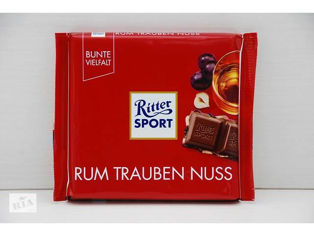 продам Шоколад Ritter Sport Риттер Спорт (Германия) 1 0 0g бу в Ровно