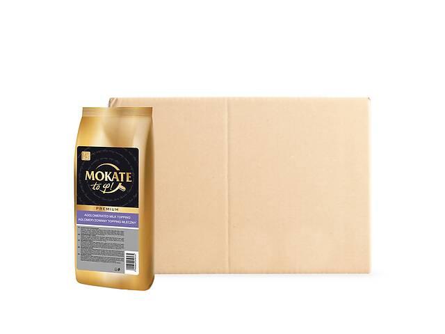 купить бу Сухие сливки Mokate Topping Premium 750 г х 10 упаковок (5900649059535,24.022) в Киеве