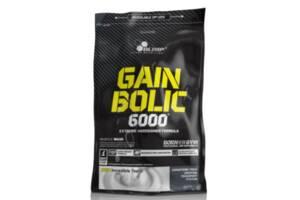 Углеводный гейнер Olimp Sport Nutrition Gain Bolic 6000, 1 кг клубника