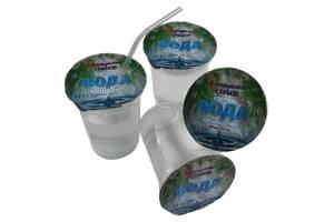 Вода питьевая в одноразовом стакане