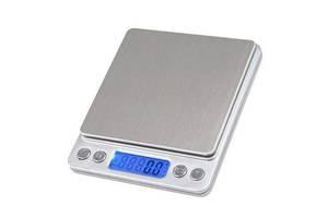 Профессиональные ювелирные весы до 500 грамм (шаг 0,01 грамм), 2 чаши