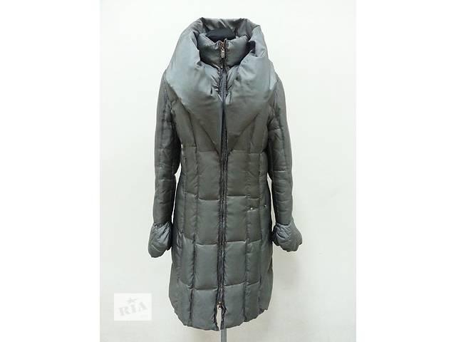 Пуховик, пуховое пальто Elisa Cavaletti ( Италия ), легкий и теплый, цвет - серо / зеленый.- объявление о продаже  в Киеве