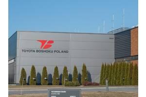 Рабочий на Toyota Boshoku Poland