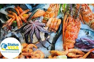 Работа в Чехии, упаковка морепродуктов, ЗП до 1200$ /мес.