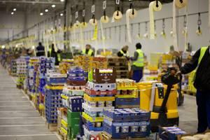 Работа в Чехии. Разнорабочие на фруктово-овощные склады. Работа за рубежом
