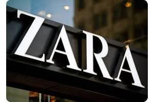 Упаковка брендовой  одежды - ZARA Бесплатное проживание