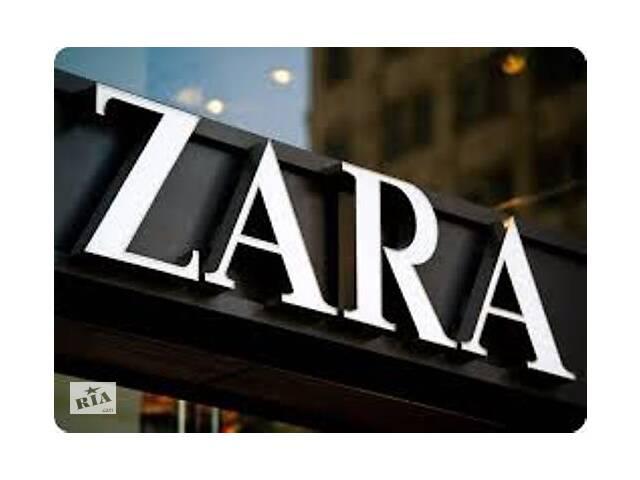 Упаковка брендовой  одежды - ZARA Бесплатное проживание- объявление о продаже   в Украине