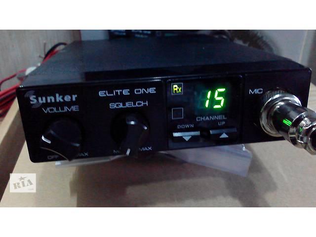 продам Рация, радиостанция Sunker CB Elite One бу в Львове
