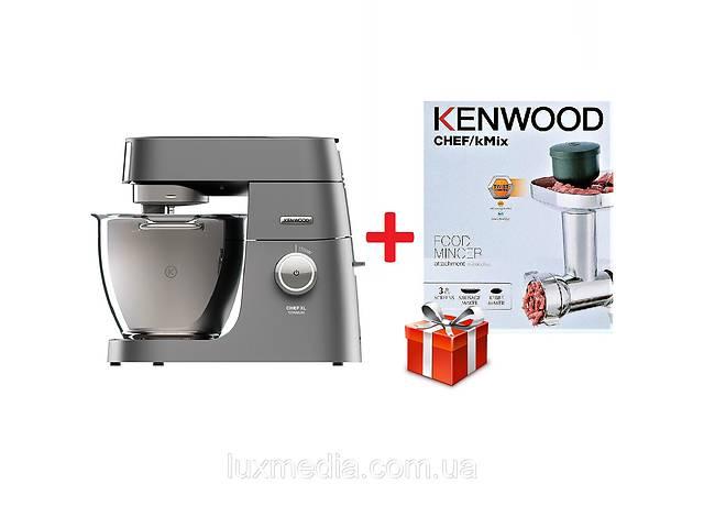 бу Кухонная машина KENWOOD Titanium KVL8320S Chef XL + насадка-мясорубка Kenwood KAX950ME в Луцьку