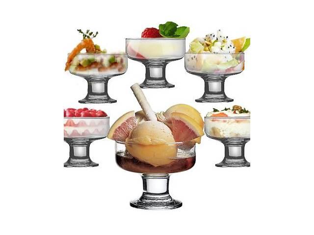 Набор стеклянных креманок Aquatic Ice Ville 6 штук- объявление о продаже  в Одессе