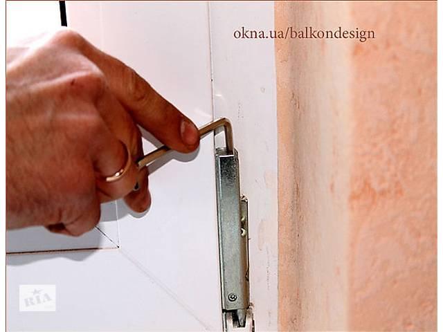 купить бу Ремонт окон,регулировка пластиковых окон,ремонт окон и дверей,ремонт пластиковых окон,замена фурнитуры в Киевской области