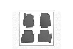 Резиновые коврики (4 шт, Stingray Premium) Nissan Tiida 2004-2011 гг. / Резиновые коврики Ниссан Тиида